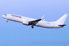 D-ABAF Eurowings B737-800 London Stansted Airport