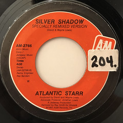 ATLANTIC STARR:SILVER SHADOW(LABEL SIDE-B)