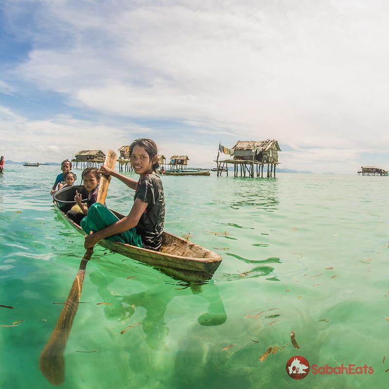 Daily life of Bajau Laut, Semporna