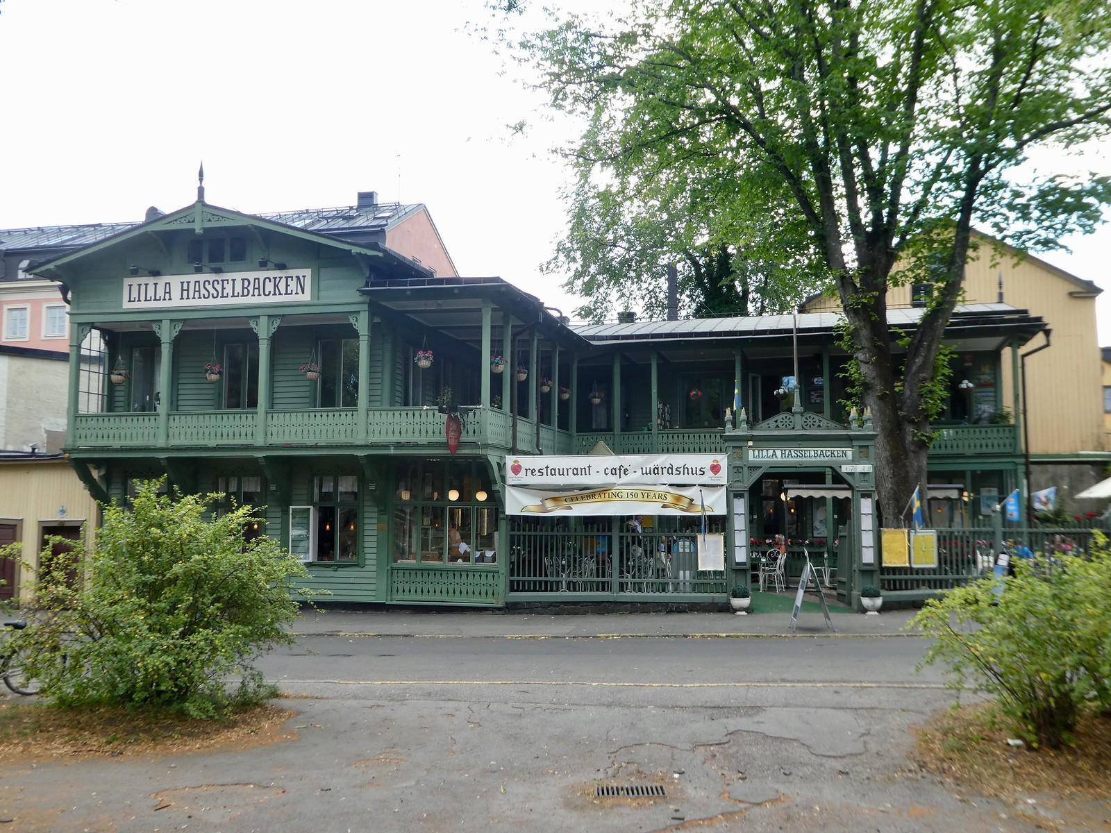Lilla Hasselbacken cafe, Djurgården, Stockholm