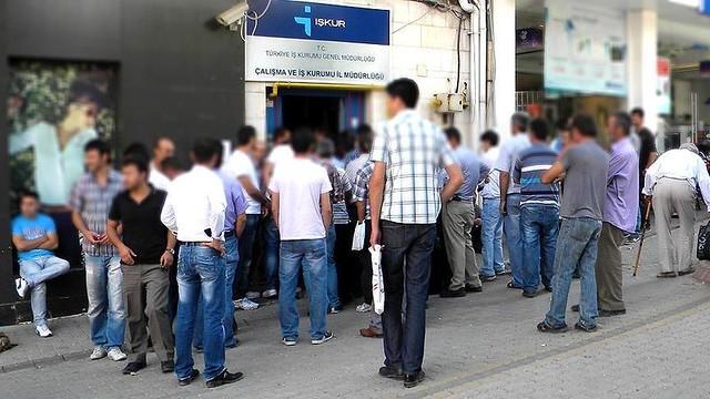 بحران بیکاری در ترکیه