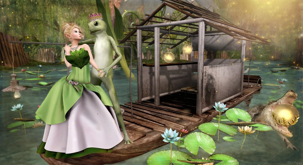 It was not a kiss that changed the frog....
