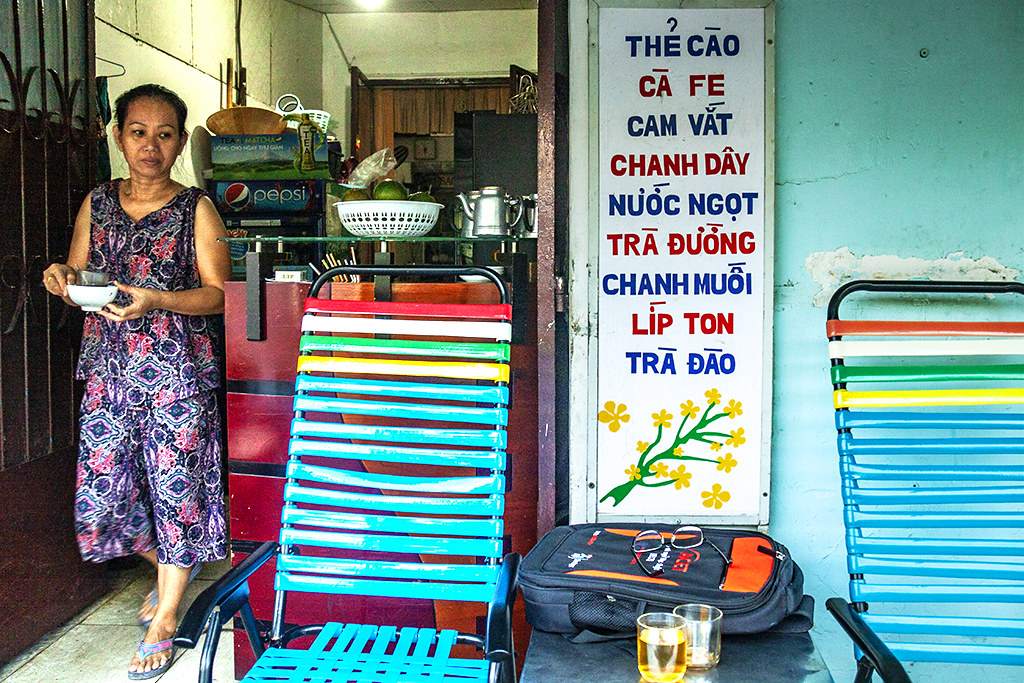 Mrs Yen's cafe--Saigon