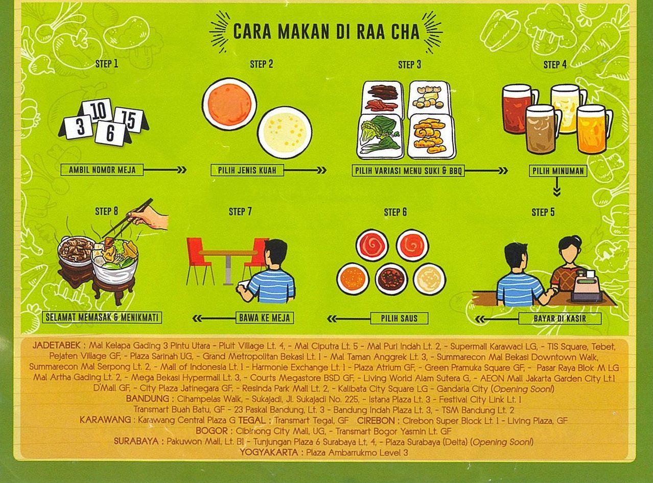 cara makan di raa cha