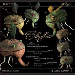 Lilith's Den - Cthuflea Gacha Key