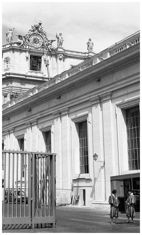 rome vatican business entrance