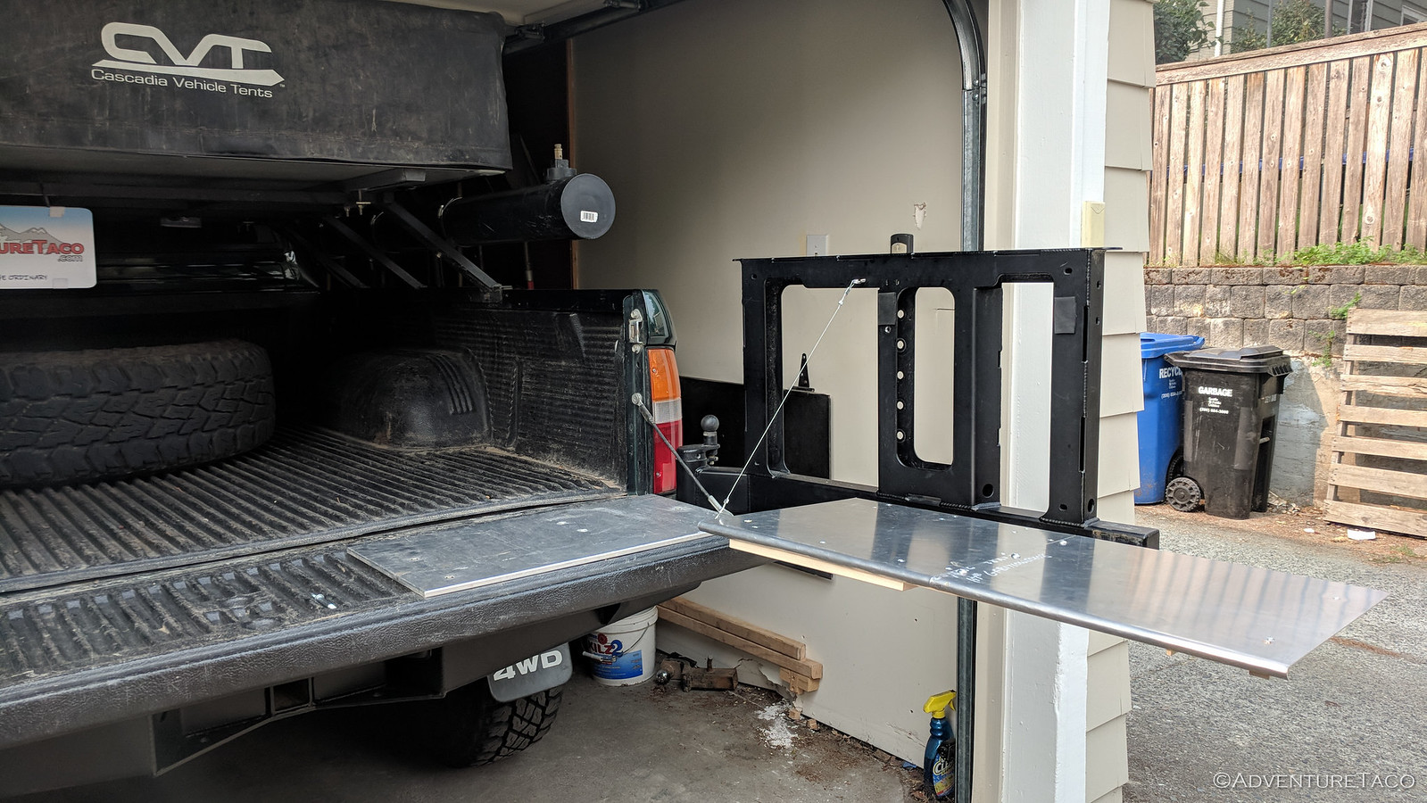 Fabricating a (Prototype) Table for the Rear Bumper Swingout