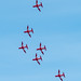 Red Arrows by Mark Hobbs@Chepstow