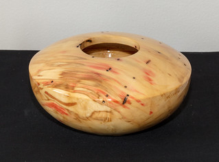 Flame Box Elder, Tru Oil, 6 x 3, #173