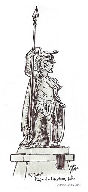 O Porto Statue