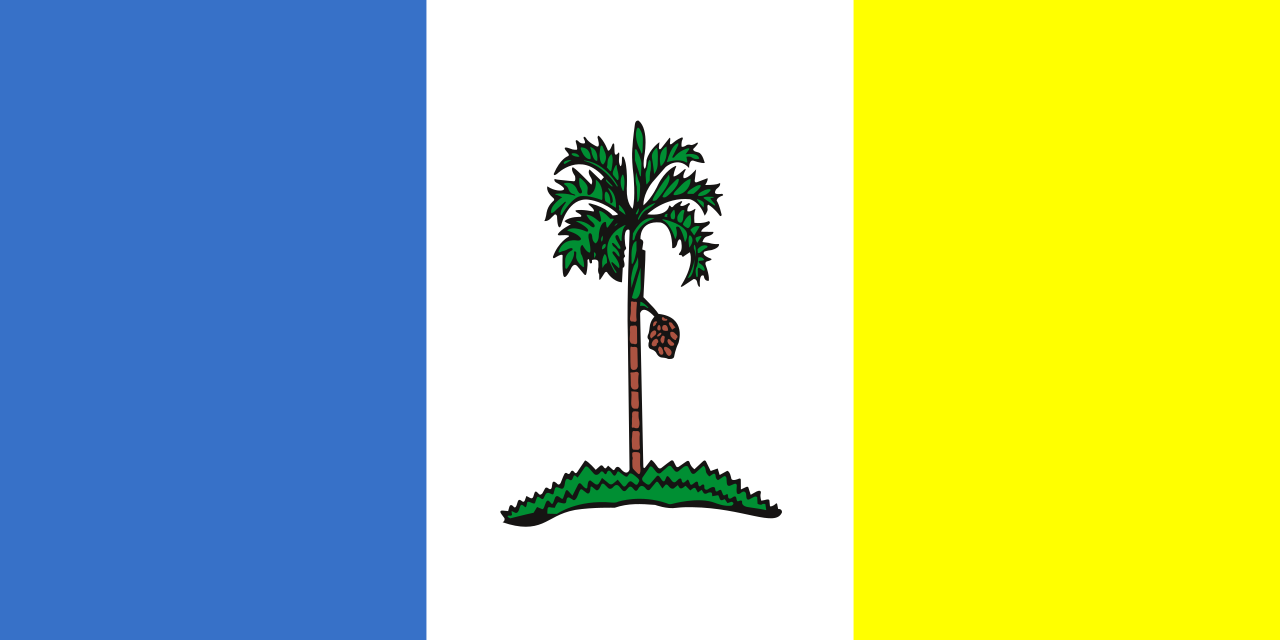 Flag of Penang, Malaysia
