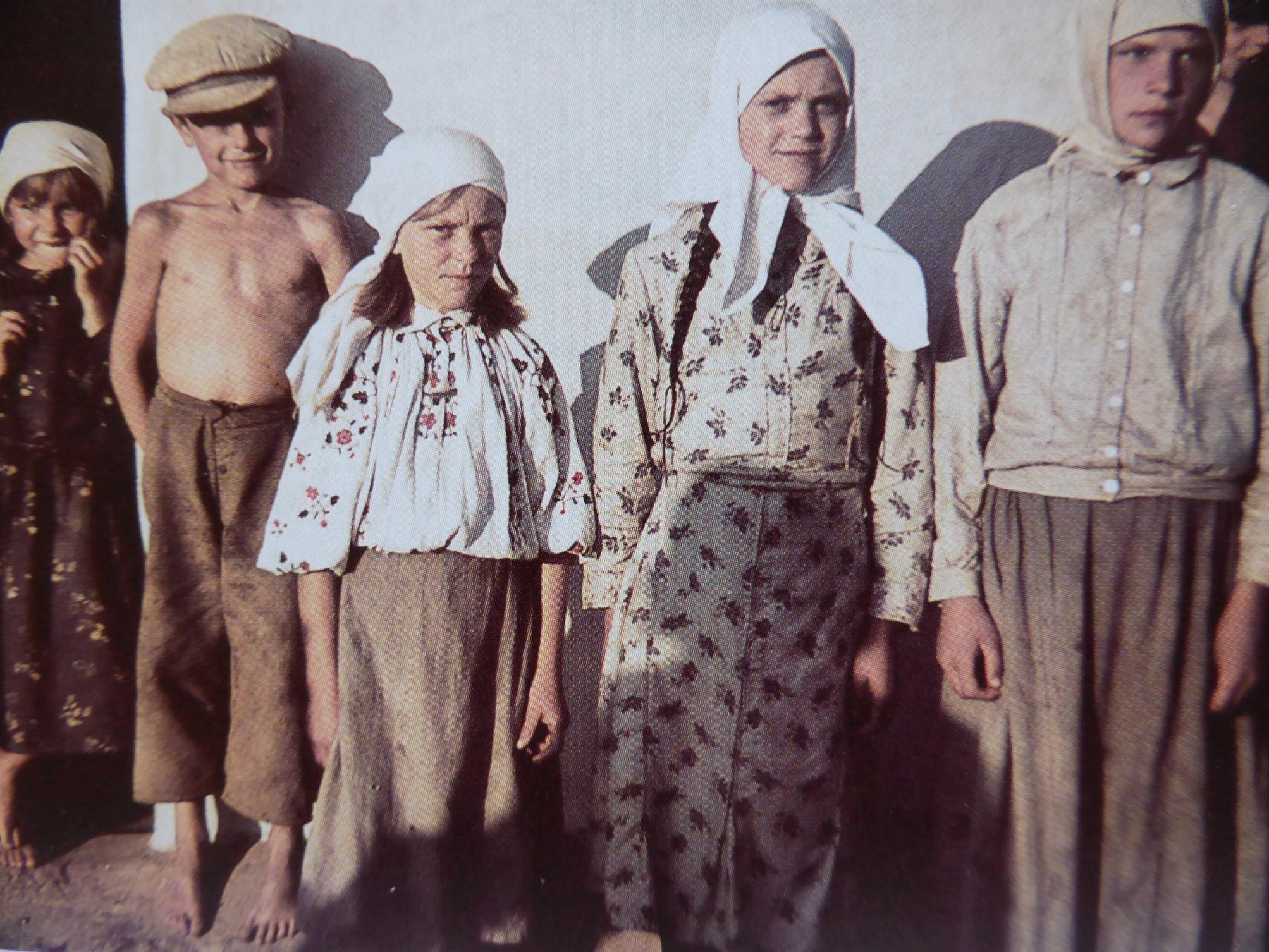 1941. Дети из деревни Новинки под Минском