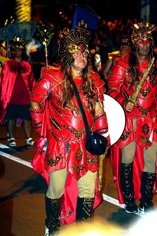 Члены карнавальной группы Струмицы