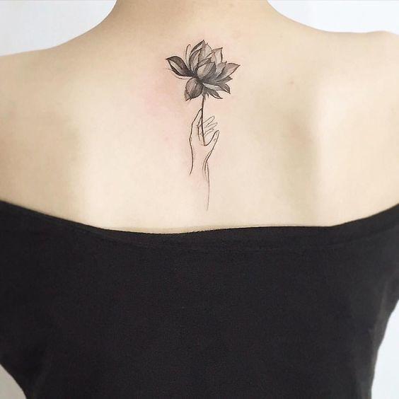 Tatuajes De Flor De Loto Originales Y únicos Mini Tatuajes