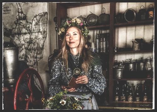 woman midsummer