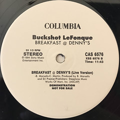 BUCKSHOT LEFONQUE:BREAKFAST @ DENNY'S(LABEL SIDE-B)