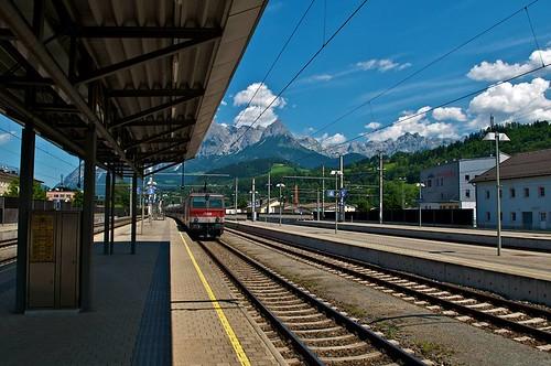 Train to Hallstatt