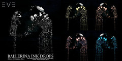 "E.V.E ""Ballerina"" Ink Drops [ M01-Ethereal Ed.]"