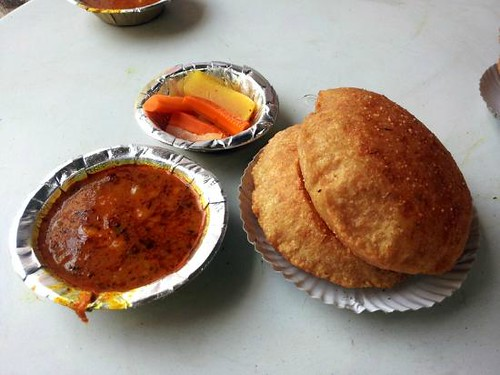 Nagori Aloo at Shyam Sweets