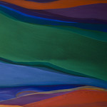 2013; Virginia Maitland; Green Machine; Acrylic on canvas; 54x66; 2013 - Virginia Maitland: 1965-Present at the Arvada Center