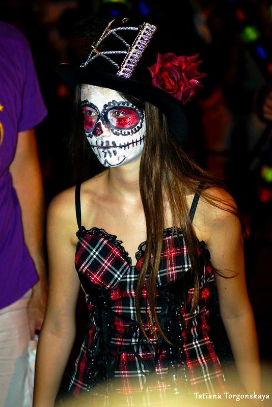 Девушка из карнавальной группы города Панчево