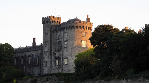 The castle in Kilkenny, Ireland