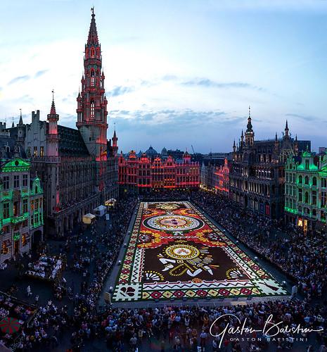 Carpet flowers 2018, Brussels, Belgium
