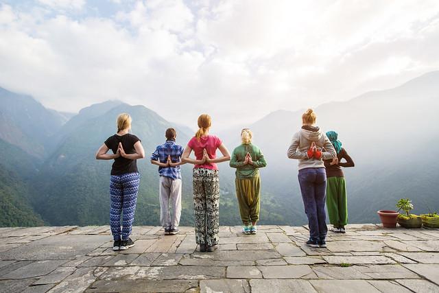 Yoga At Buddhayogpeeth In Rishikesh