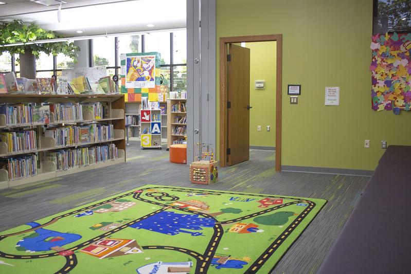 Youth activity room