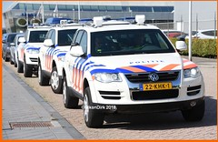 Dutch Police VW's.
