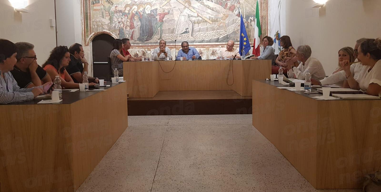 Consiglio comunale Teggiano 07-08-18