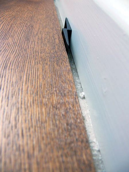 Wood Floor expansion gaps