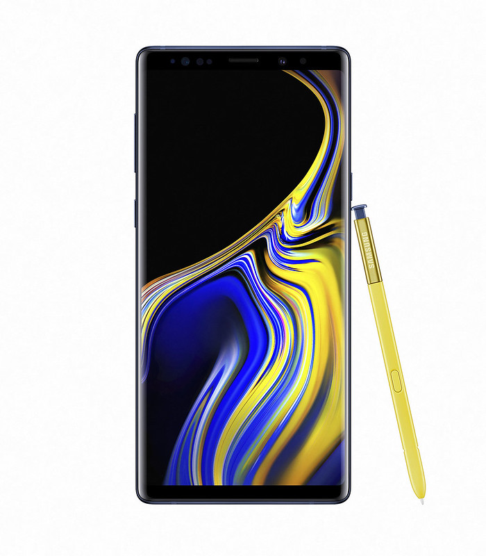 Samsung Note 9 - Ocean Blue - Front