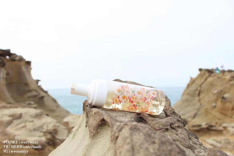 Qher 植感山茶花系列 保濕洗卸慕斯 提亮粉嫩素顏霜25