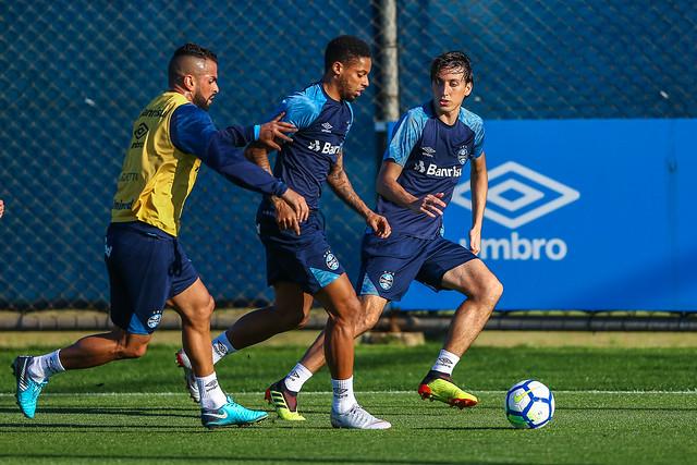 Treino Grêmio 13/08/18