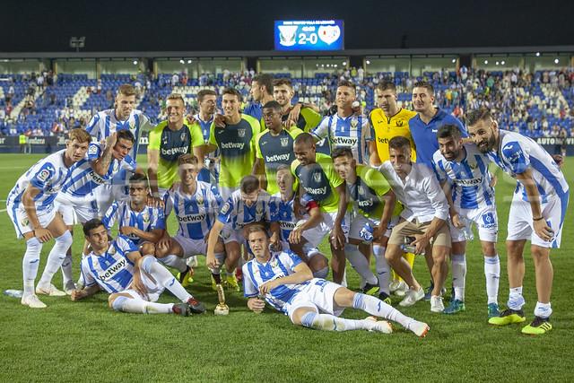 Pretemporada: Villa de Leganés. C.D. Leganés 2-0 Rayo Vallecano. 11/08/2018