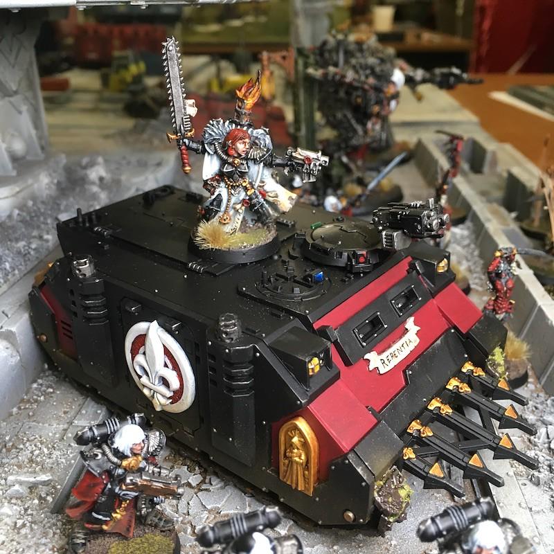 Medal of Colors Indomitus Crusade Armies-44