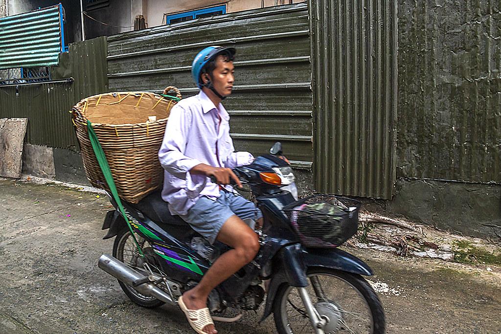 Bread man--Saigon
