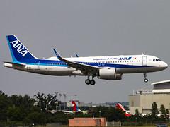 All Nippon Airways | Airbus A320-271N(WL) | F-WWIA (JA214A)
