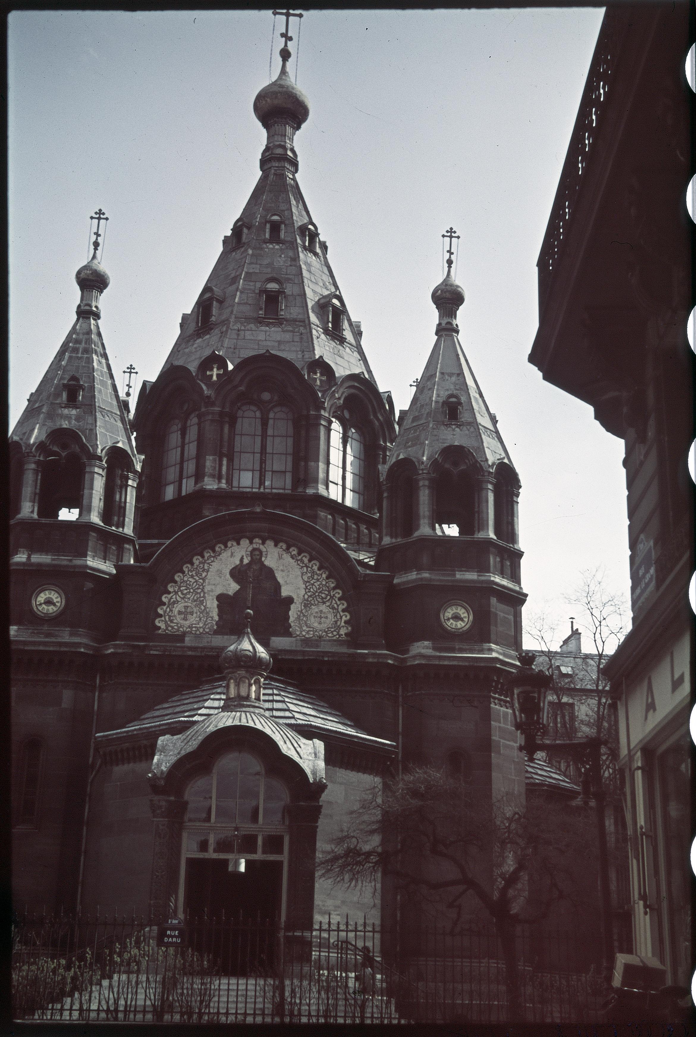 Русская церковь на улице Дару