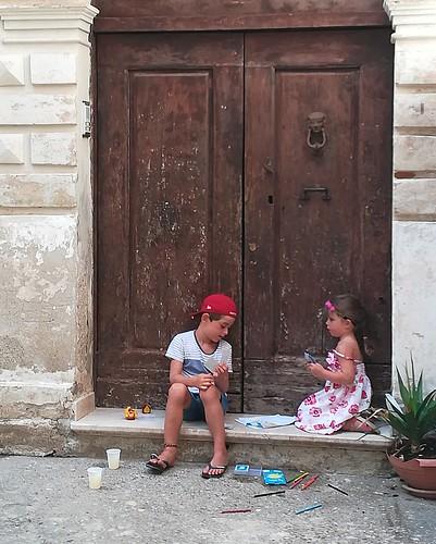 Pomeriggio d'agosto in Calabria