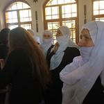 Druze women at Mokhtara castle