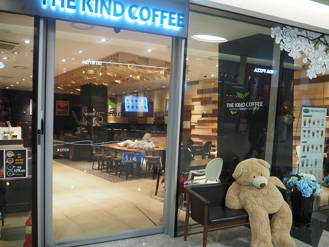 P6157999 東大門デザインプラザ(DDP) 東大門デザインマーケット 韓国 フードコート ソウル ひめごと THE KIND COFFEE(더착한커피)