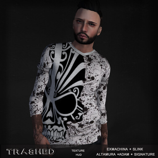 <Trashed> totem sweater  With hud - TeleportHub.com Live!