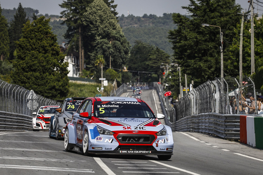 05 MICHELISZ Norbert, (hun), Hyundai i30 N TCR team BRC Racing, action during the 2018 FIA WTCR World Touring Car cup of Portugal, Vila Real from june 22 to 24 - Photo Francois Flamand / DPPI