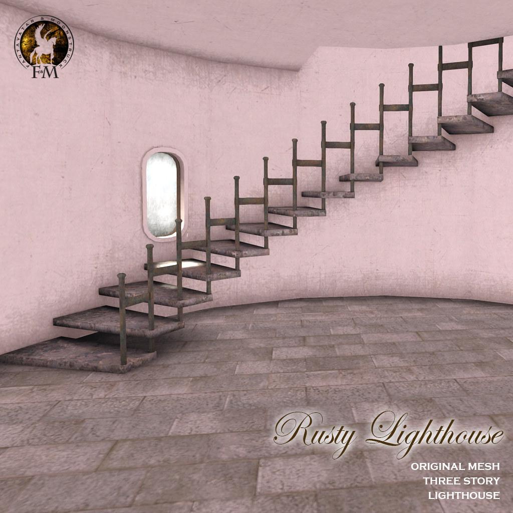 Fantavatar & Moonstruck * Rusty Lighthouse