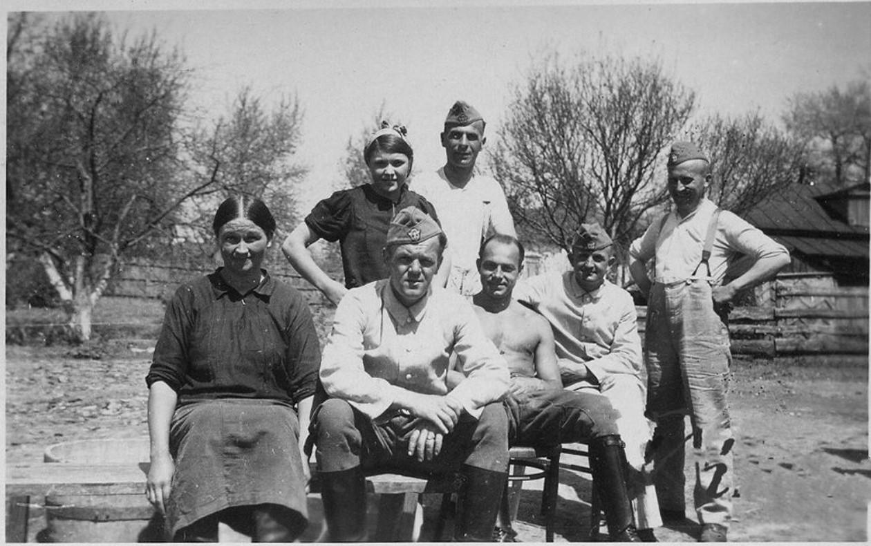 1942. Жизнь под немцем. Козелец, Черниговской области (1)