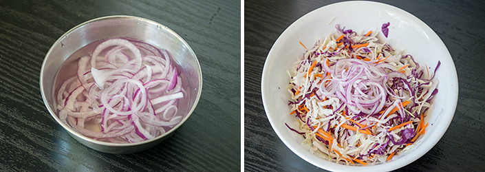 Coleslaw cooking steps by GoSpicy.net