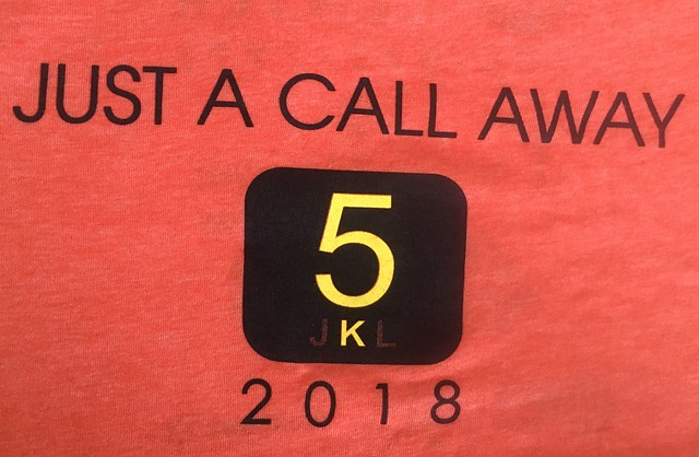 2018 Just A Call Away 5k/Fun Run