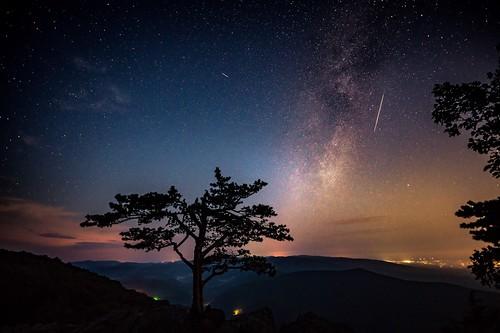 astrophotography raven'sroost a7riii milkyway meteor blueridgeparkway perseidmeteorshower